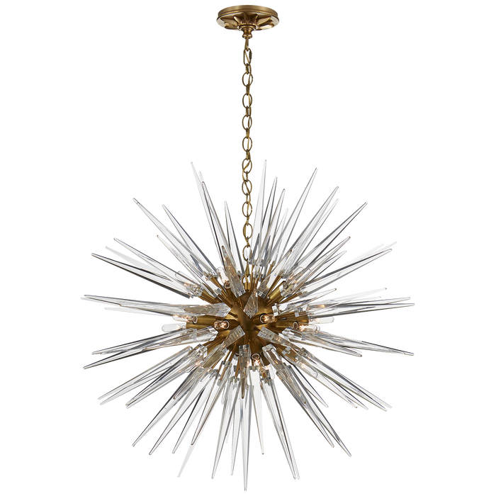 Quincy Medium Sputnik Pendant Antique-Burnis
