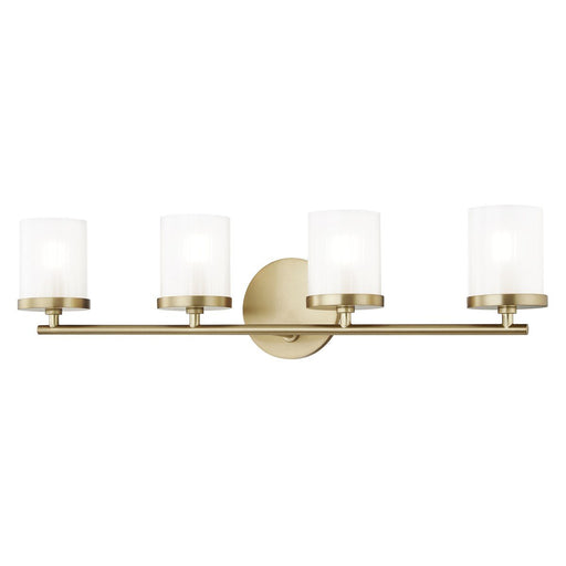 Ryan 4 Light Bath Bar - Aged Brass