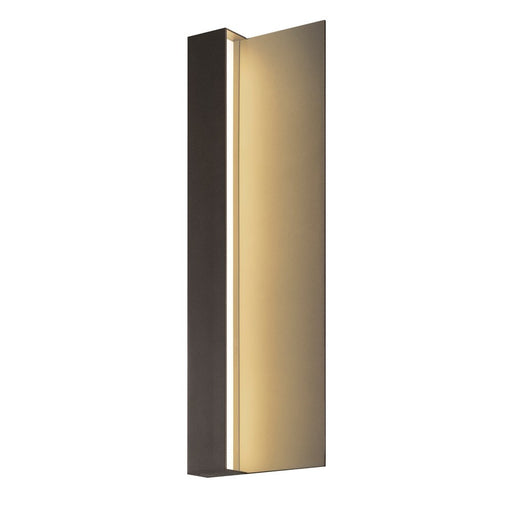 "Radiance 20"" Outdoor LED Wall Sconce - Bronze"