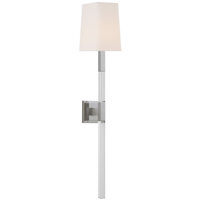 Reagan Large Tail Sconce - Polished Nickel