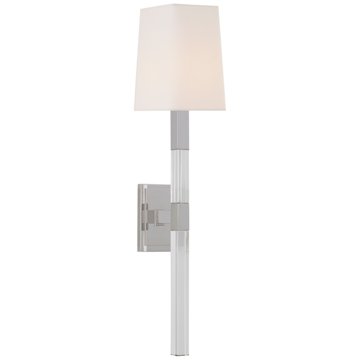 Reagan Medium Tail Sconce - Polished Nickel