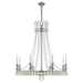 Regency Large Chandelier - Polished Nickel Finish