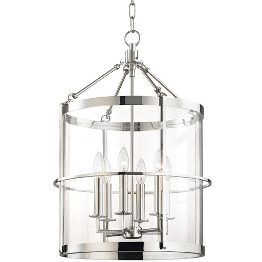 Ren 6-Light Pendant - Polished Nickel