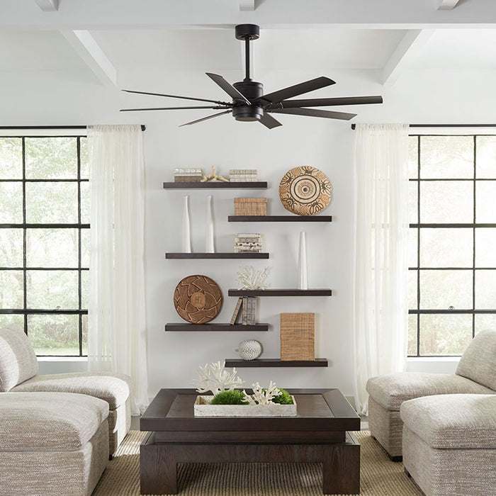 Renegade LED Smart Ceiling Fan - Display