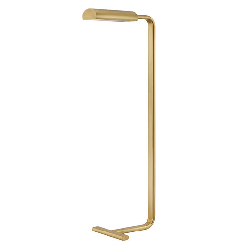 Renwick Floor Lamp - Aged Brass