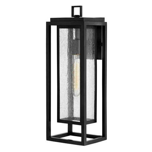 Republic Large Outdoor Wall Sconce - Black Finish