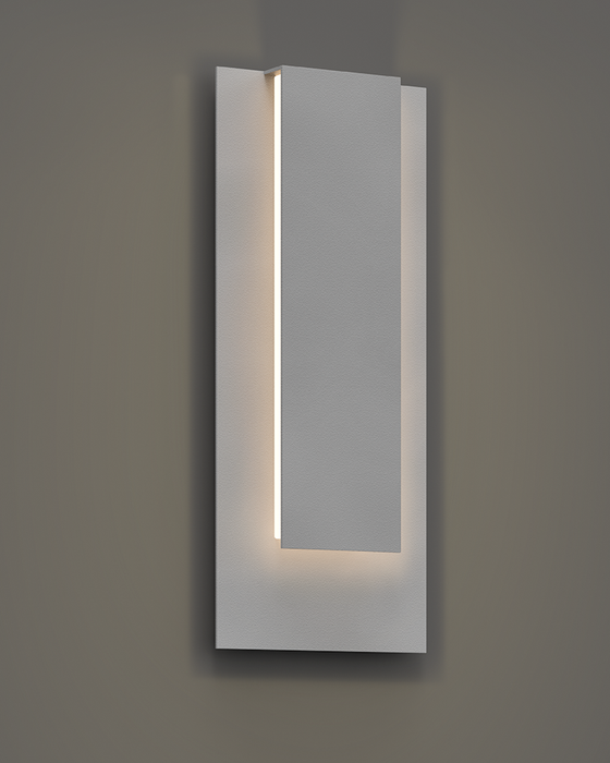 Reveal Tall Outdoor LED Wall Sconce - Display