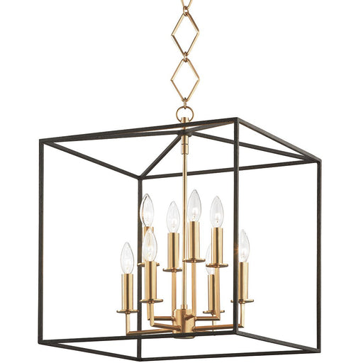 Richie 8-Light Pendant - Aged Brass