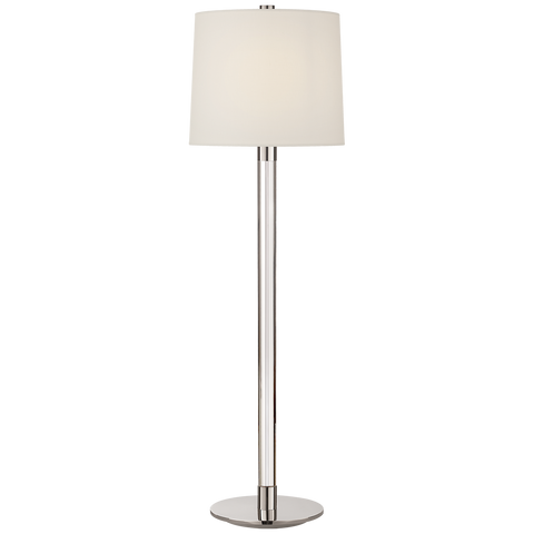 Riga Buffet Lamp Crystal/Polished Nickel