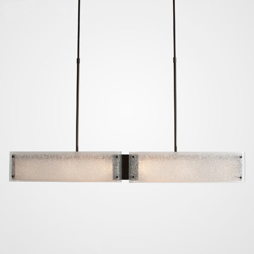 Rimelight Linear Suspension - Flat Bronze/Frosted