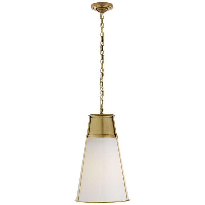 Robinson Large Pendant - Hand-Rubbed Antique Brass