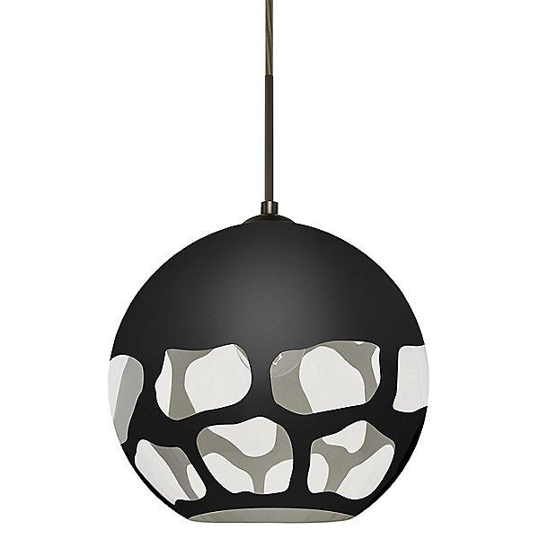 Rocky Pendant Light Black/Bronze