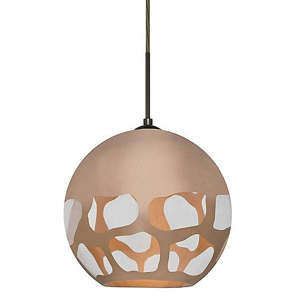 Rocky Pendant Light Copper Copper/Bronze