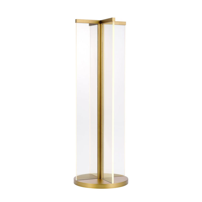 Rohe Table Lamp - Natural Brass Finish