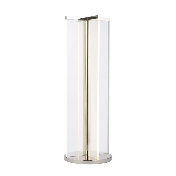 Rohe Table Lamp - Polished Nickel Finish