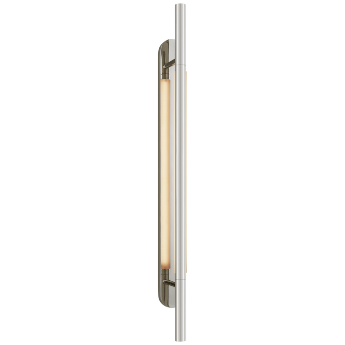 Rousseau Large Bracketed - Polished Nickel Finish