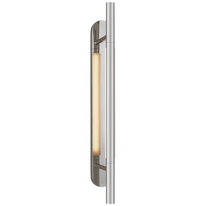 Rousseau Medium Bracketed - Polished Nickel Finish