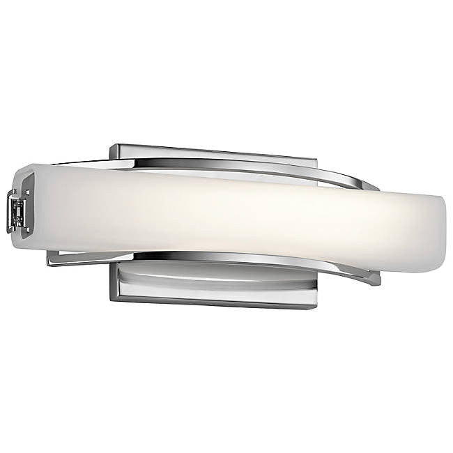 "Rowan 13"" LED Wall Sconce - Chrome"