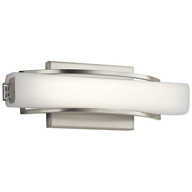 "Rowan 13"" LED Wall Sconce - Brushed Nickel"