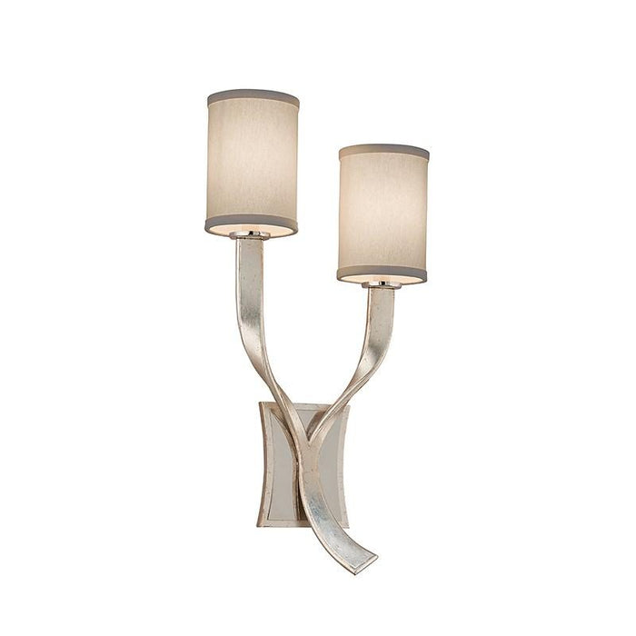 Roxy Wall Sconce - Modern Silver Finish
