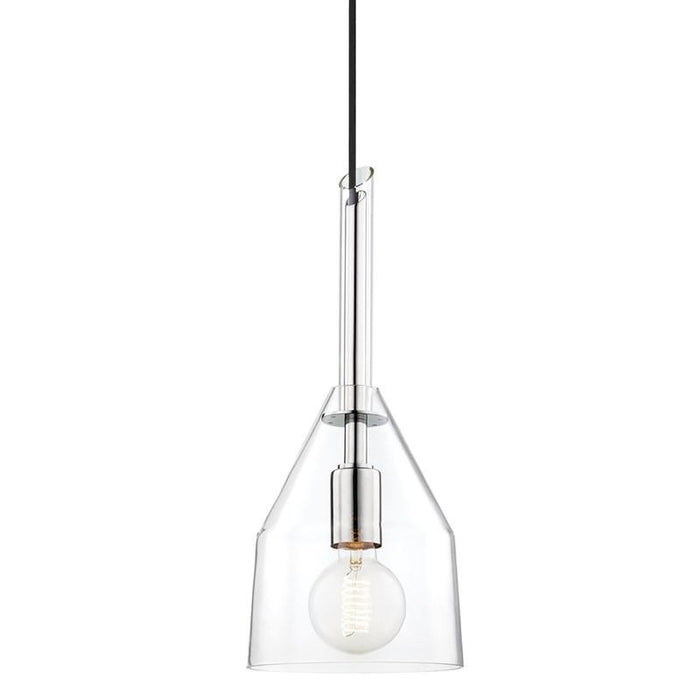 Sloan Small Pendant - Polished Nickel