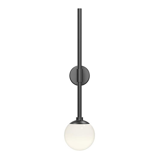 Sabon LED Wall Sconce - Satin Black Finish