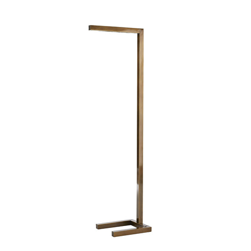 Salford Floor Lamp - Vintage Brass