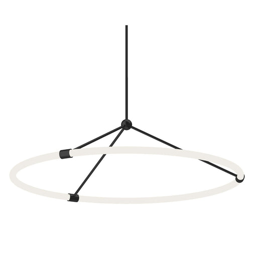 Santino Large Pendant - Black Finish