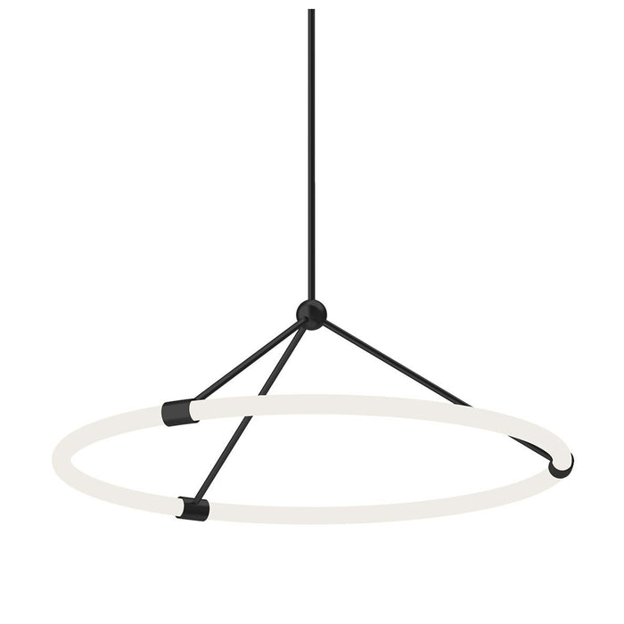 Santino Small Pendant - Black Finish