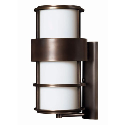 Saturn Large Outdoor Wall Light - Metro Bronze