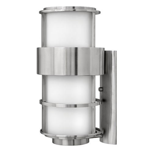 Saturn Large Outdoor Wall Light - Stainless Steel