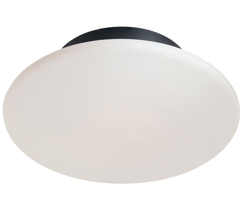 Saturn Flush Mount - Satin Black
