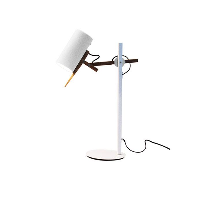 Scantling Table Lamp - White Finish