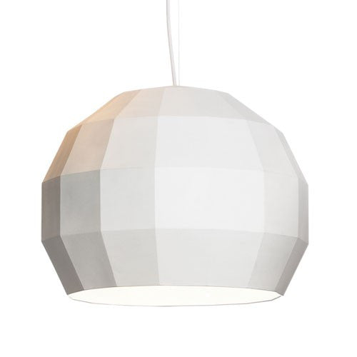 Scotch Club 41 Pendant Light - White/White Finish