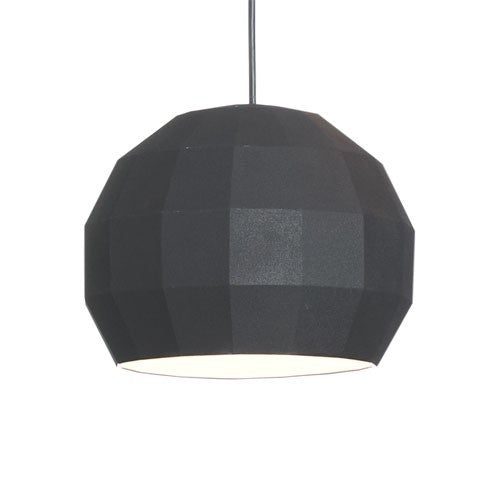 Scotch Club 41 Pendant Light - Black/White Finish