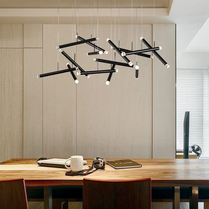 Seesaw Linear Suspension - Display