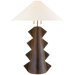 Senso Large Table Lamp - Crystal Bronze Finish