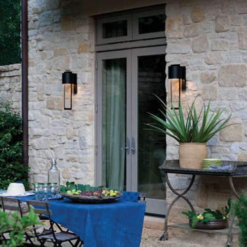 Shelter LED Outdoor Wall Sconce - Display