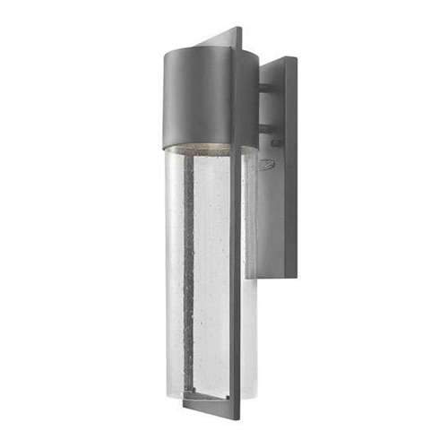 Shelter Outdoor Medium Wall Sconce - Hematite