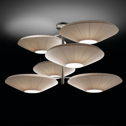 Siam 06 Ceiling Light - Cream