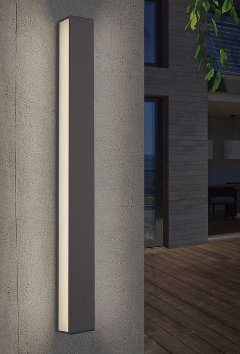 Sideways Outdoor LED Wall Sconce - Display
