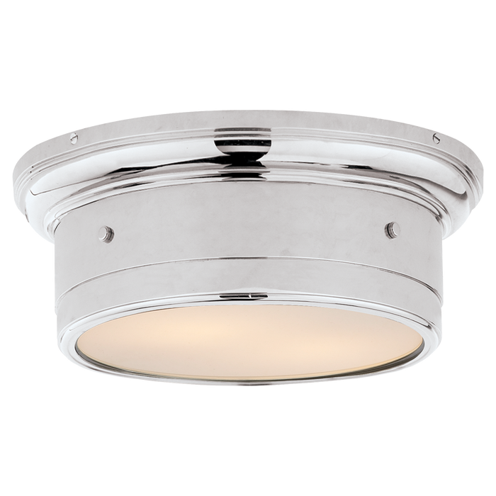 Siena Small Flush Mount - Chrome Finish
