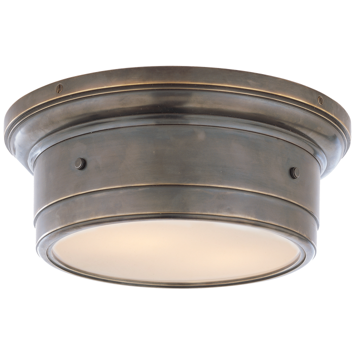 Siena Small Flush Mount - Bronze Finish