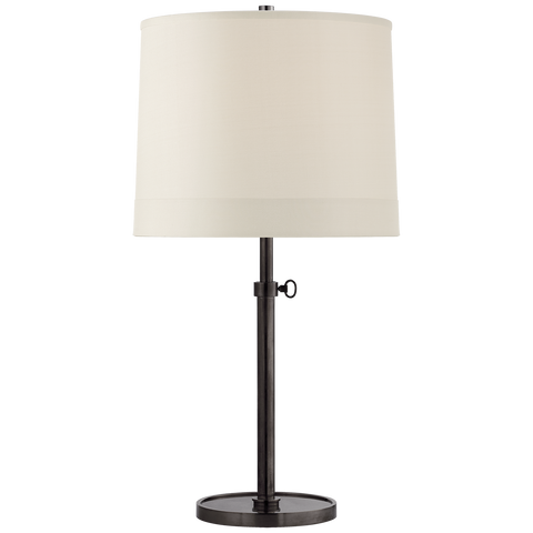 Simple Adjustable Table Lamp Bronze