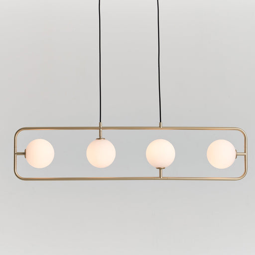 Sircle Linear Suspension - Champagne Gold Finish