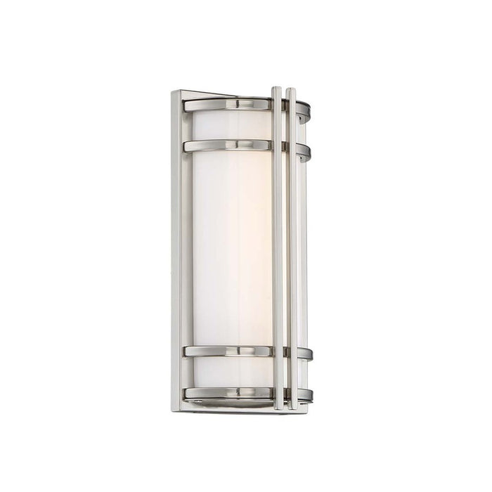 Skyscraper LED Outdoor Wall Light - Stainless Steel Finish