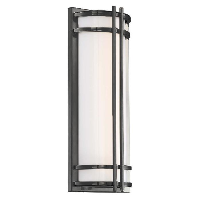 "Skyscraper 18"" LED Outdoor Wall Light - Bronze Finish"