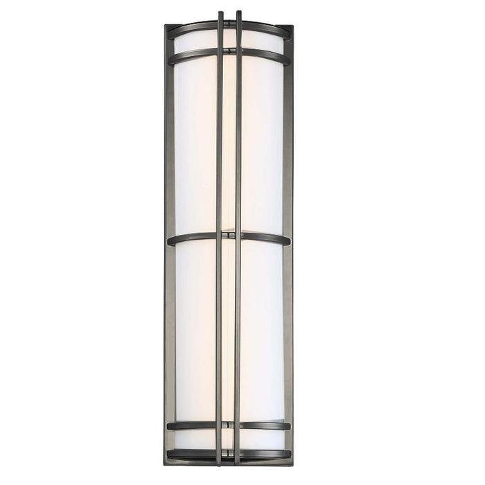 "Skyscraper 27"" LED Outdoor Wall Light - Bronze Finish"