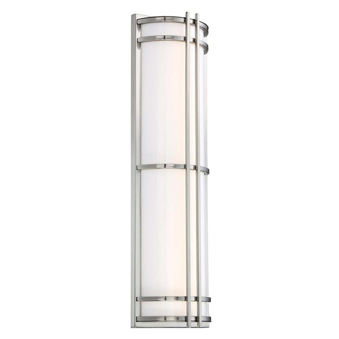 "Skyscraper 27"" LED Outdoor Wall Light - Stainless Steel Finish"