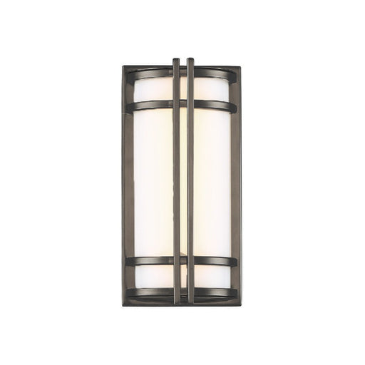 Skyscraper LED Outdoor Wall Light - Bronze Finish